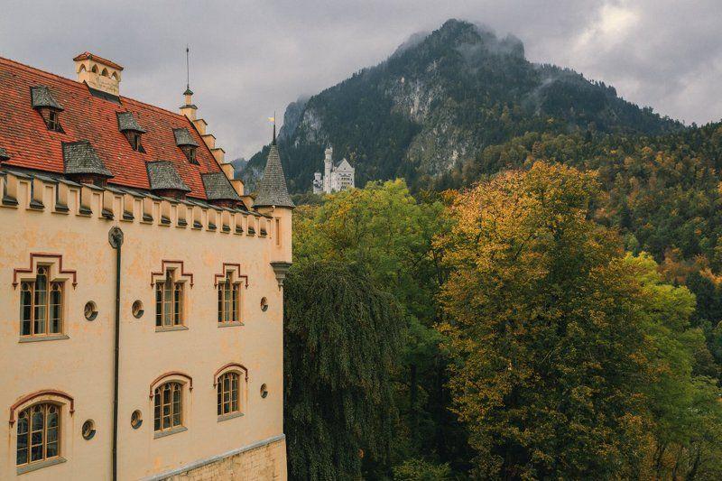 замок Осень баварских замковphoto preview