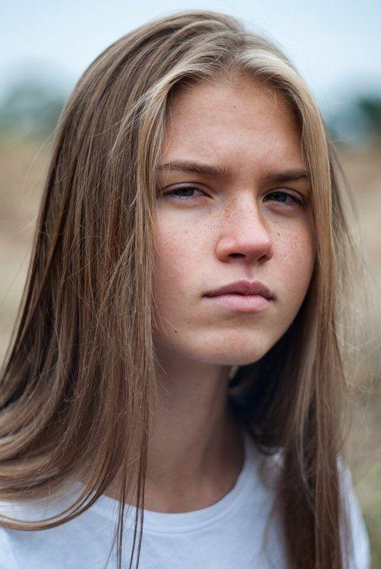 портрет, девушка, блондинка, веснушки, portrait, girl, blonde, freckles Настяphoto preview