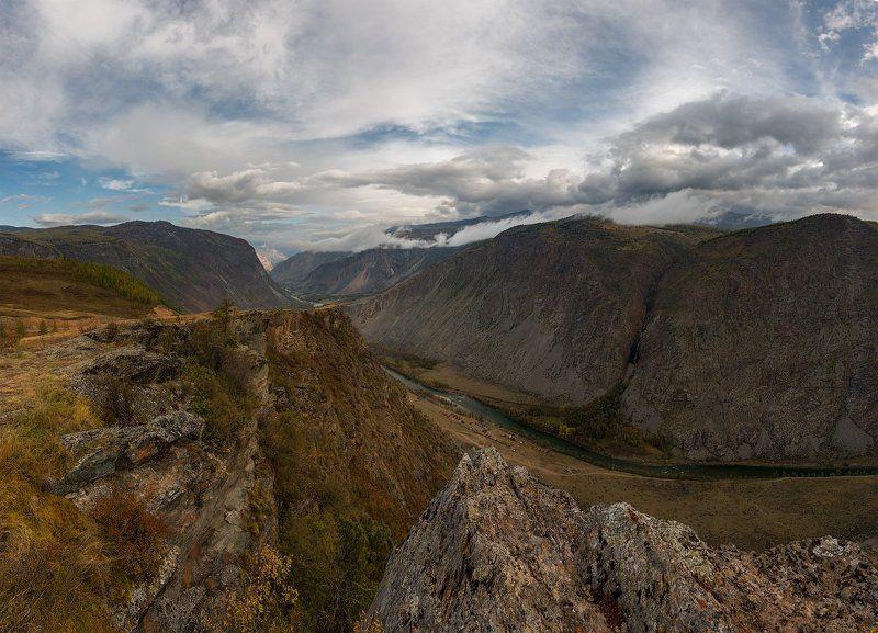 Алтай, Панорама Здесь веков тишинаphoto preview