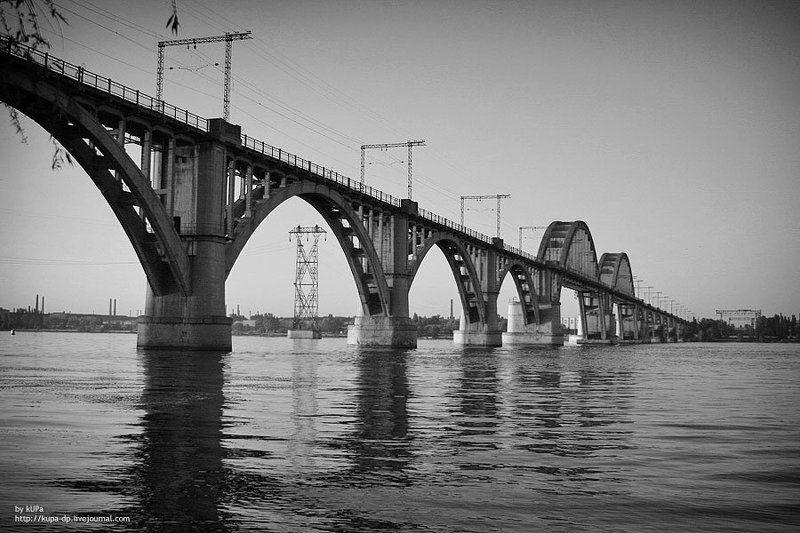 мост днепр Мост через Днепрphoto preview
