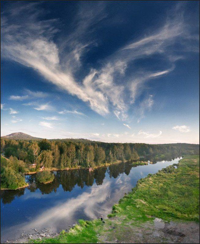 утро, река, урал Утром на реке...photo preview