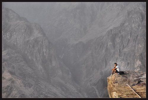 Человек и горы