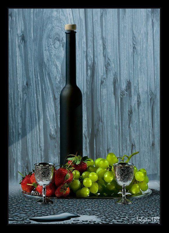 вино, двое, десерт Лёгкий ужин на двоих...photo preview