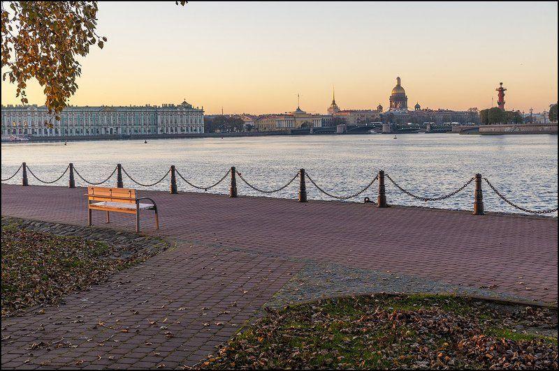 санкт-петербург  осень  октябрь утро photo preview