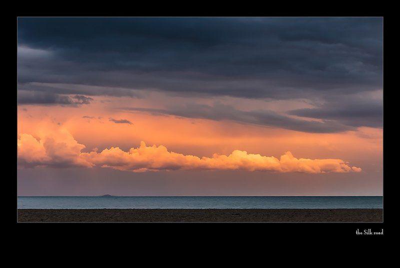 озеро иссык-куль и тишина...photo preview