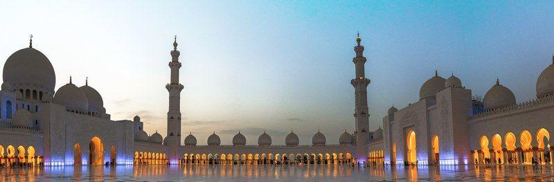 landscape, beauty, beautiful, dubai, summer, journey, architecture Мечеть шейха Зайдаphoto preview