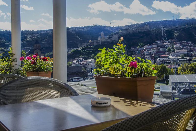 город тбилиси, дома, кафе, кошкадо, улица, фоарь, чурчхелы Тбилисские зарисовкиphoto preview