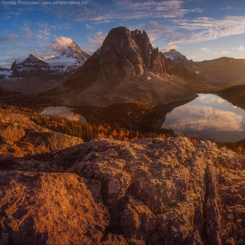 canada alberta landscape sunset mointain assiniboine Assiniboinephoto preview