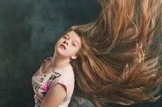 Летящие волосы