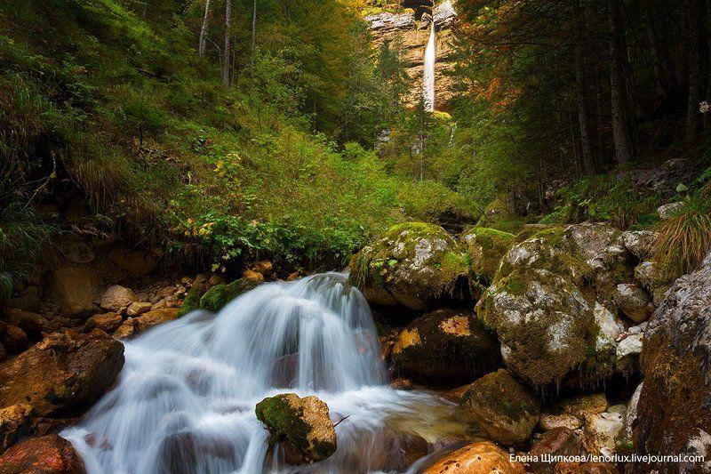 На подступах к водопаду Перечник, Словенияphoto preview