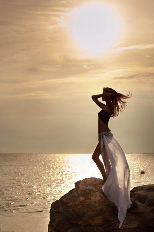 рассвет, море, одесса Встречая солнцеphoto preview
