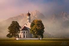 Morning near the church
