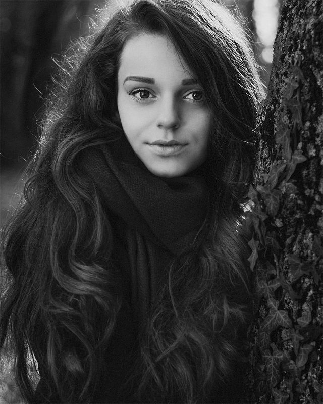 blackandwhite, portrait, beautiful, beauty, lovely, pretty, gorgeous, cute, face, young, girl, outdoor, photography, nikon_photography наташаphoto preview