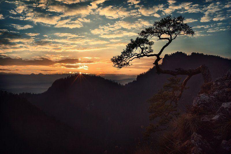 Zachód słońca na Sokolicyphoto preview