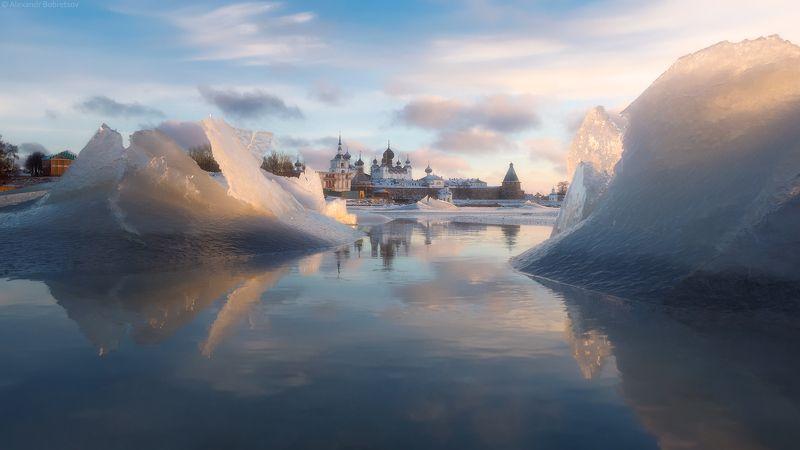 соловки, первый лед, монастырь, фототур Первый ледphoto preview