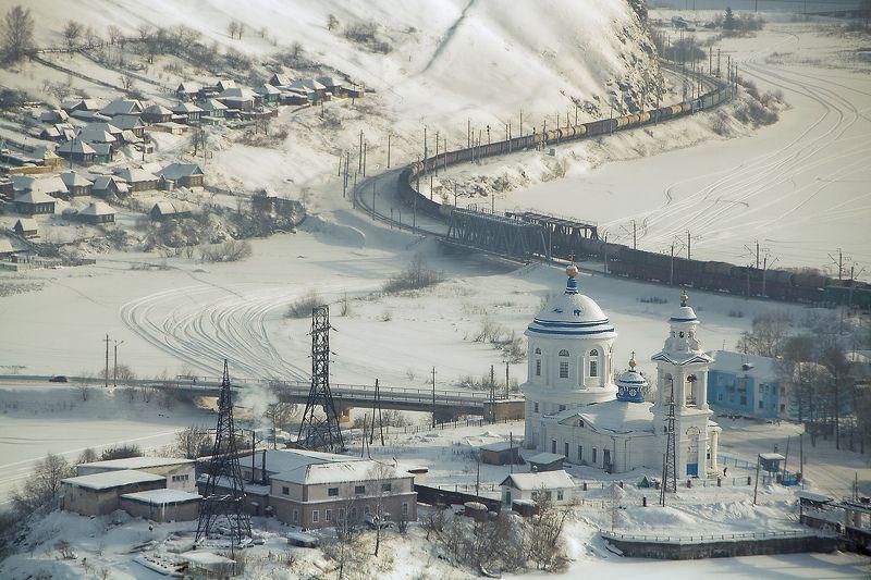 Миньяр Едет поезд по Уралуphoto preview