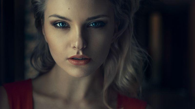 portrait, eyes, beautiful, sexy, polish, poland, canon, sigma Blue ice eyesphoto preview