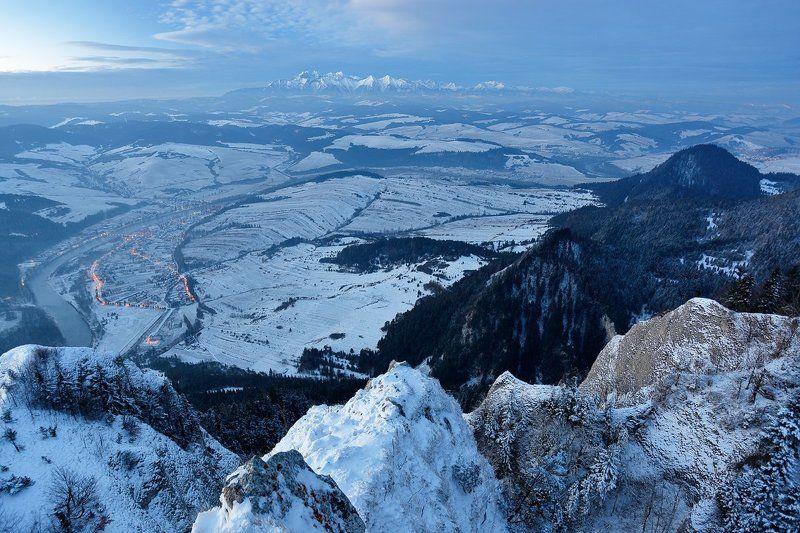Widok na Tatry z Okrąglicy.photo preview