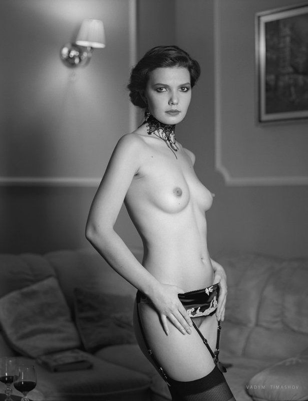 art, beauty, nude, print, portrait, vadym timashov, black and white *****photo preview