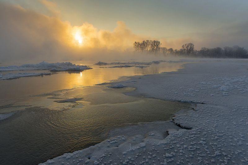 Енисей, Зима, Хакасия Зимний Енисейphoto preview