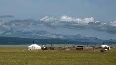 Типичный монгольский пейзаж