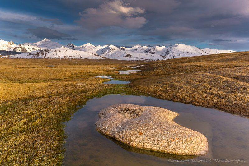киргизия, горы Вся гамма чувств Киргизского высокогорьяphoto preview