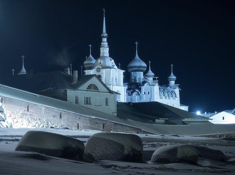 соловки, север, монастырь, фототур В морозную ночьphoto preview