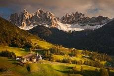 Picturesque valley