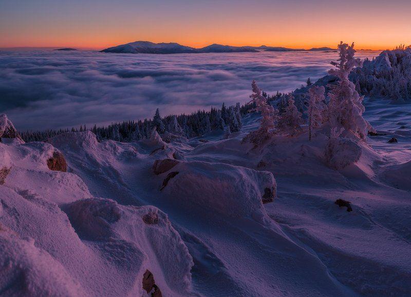 зюраткуль, южный урал, выше облаков Заоблачный Уралphoto preview