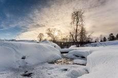 Одна из шестисот речек впадающих в Байкал