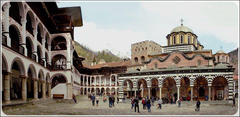 Монастырь святого Иоанна Рыльского - Болгарияphoto preview