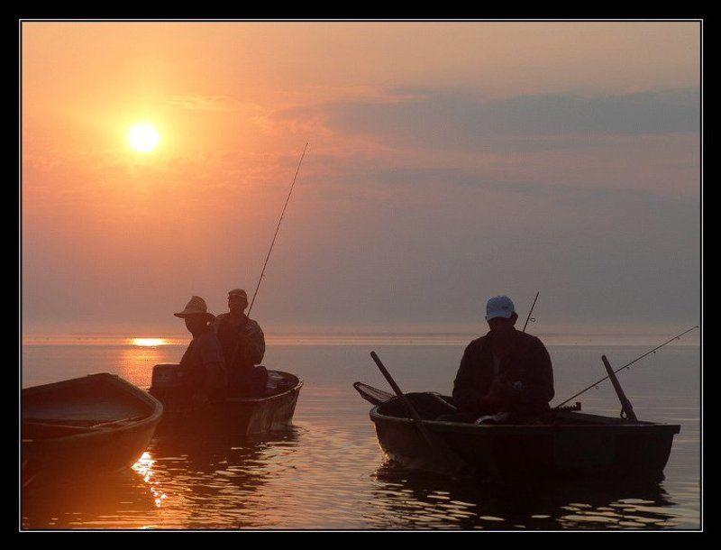 темрюк, осень, лиманы, азовское море Утро. Горький лиманphoto preview