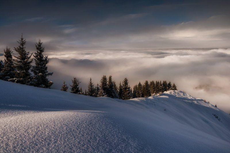 Горы, Зима, Кимасар, Туман Горные туманыphoto preview