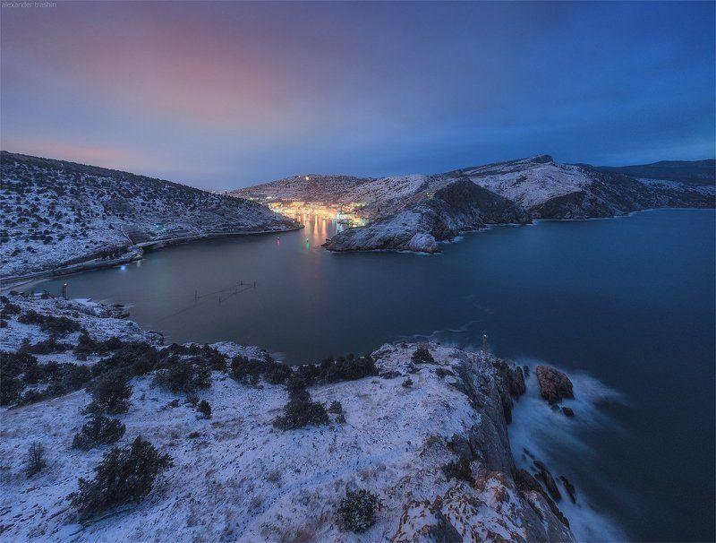 крым, зима, балаклава, пейзаж, crimea, balaklava, snow Зимняя Балаклаваphoto preview