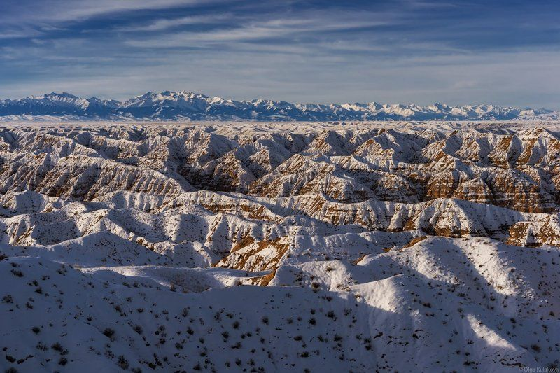 каньон, жабыр, чарын, утро, зима, рассвет Каньон Жабыр. Зимнее утроphoto preview