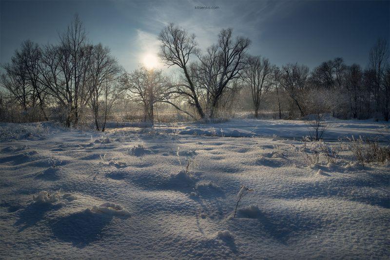 зима, день, мороз, солнце, снег, сугроб ЗИМНИЙ ДЕНЬphoto preview