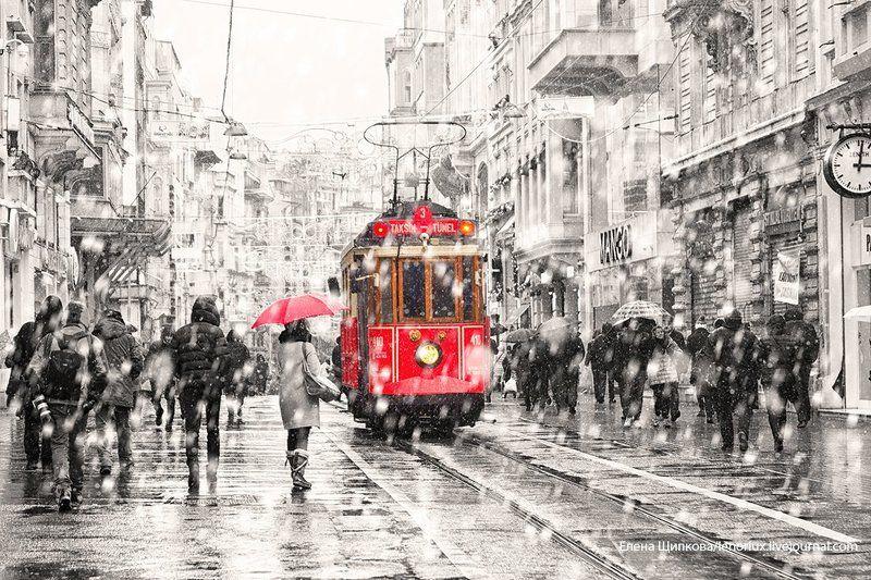 Стамбул и немного снегаphoto preview