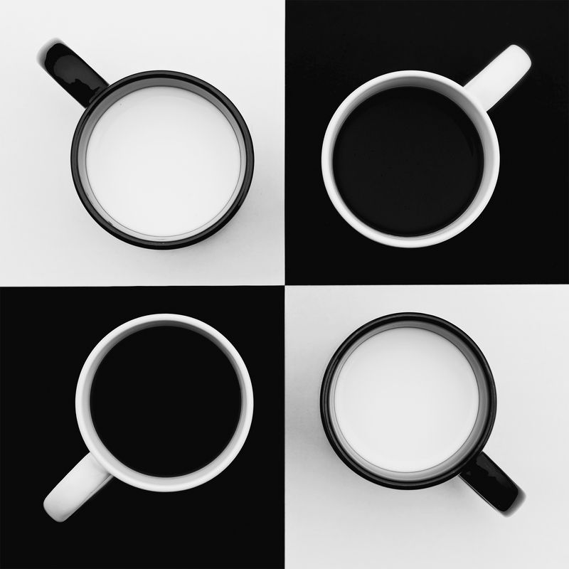 cups,still life,jozefkiss, photography, nikon photography, black and white cupsphoto preview