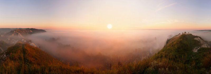 Рассвет на реке Кореньphoto preview