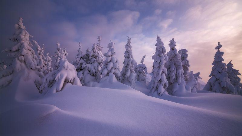южный урал, зюраткуль, зимняя сказка Зефирphoto preview