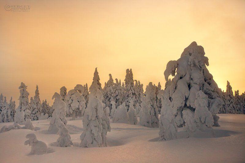 Закат на зимнем Таганаеphoto preview