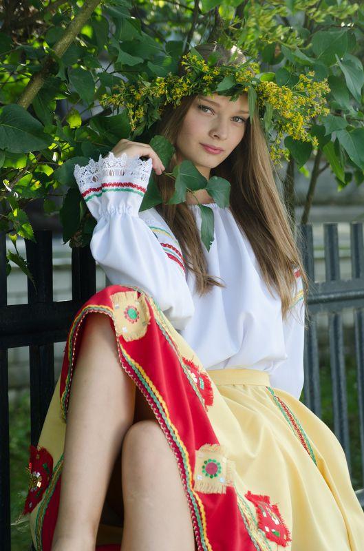 солнце, лето, лес, деревня, дети, русское народное, культура, история, сказка, романтика, улыбка, радость, лошадь Динаphoto preview
