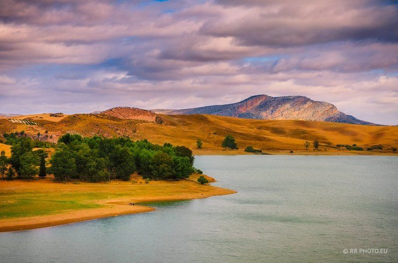 andalusia, spain, mountains, landscape, nature, clouds, lake,  Andalusiaphoto preview