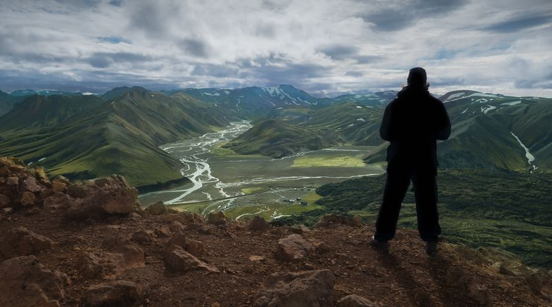 Iceland, landmannalaugar, Epic views along the wayphoto preview