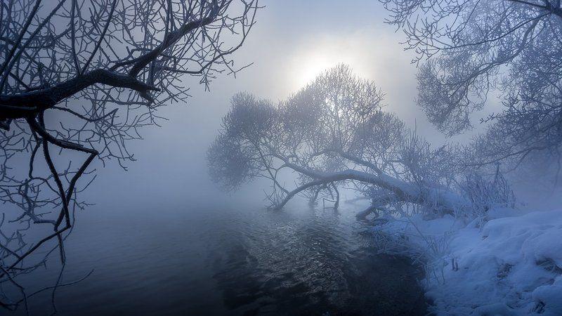 Зима, Мороз, Природа, Россия, Тула ...photo preview