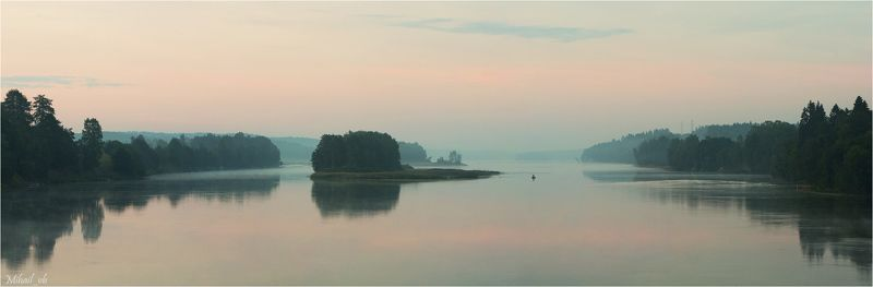 вуокса, река, утро Вуокса в утренние часыphoto preview