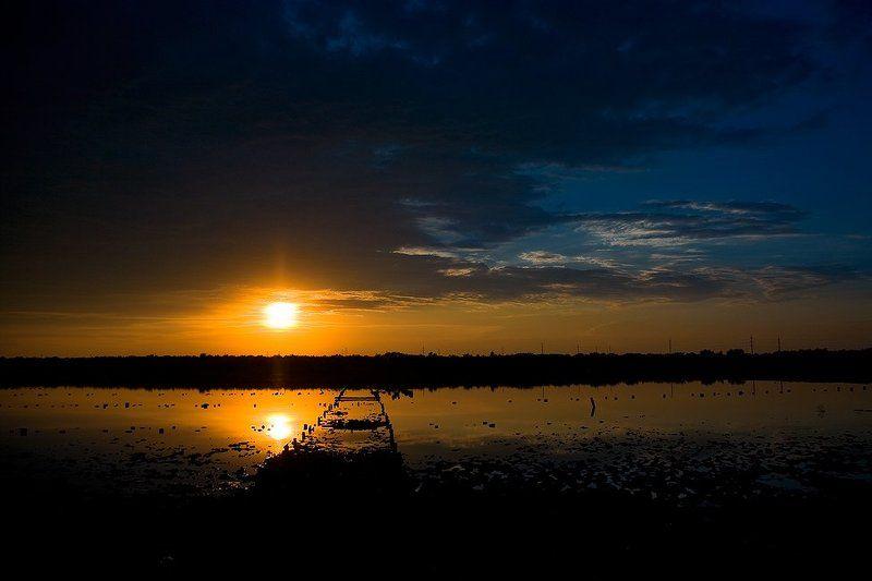мойнаки, грязи, закат Apocalypse Sunset...photo preview