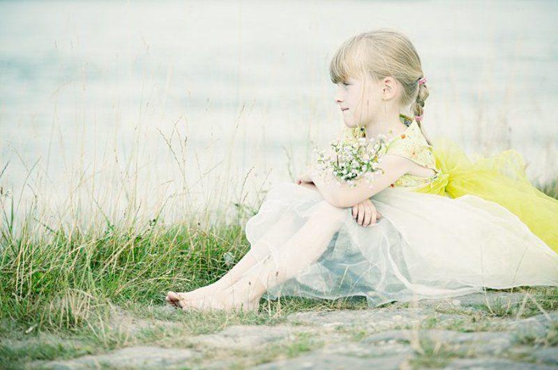 ребенок, романтика, девочка, у, реки, сказка, фея Лизаphoto preview