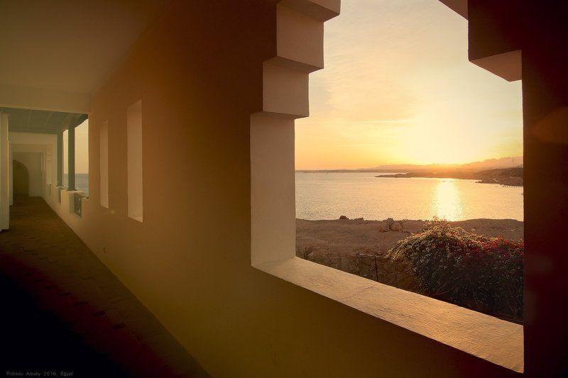 закат, Шарм-эш-Шейх, вечер, тепло, море, красное море,   Окно в лето и теплоphoto preview