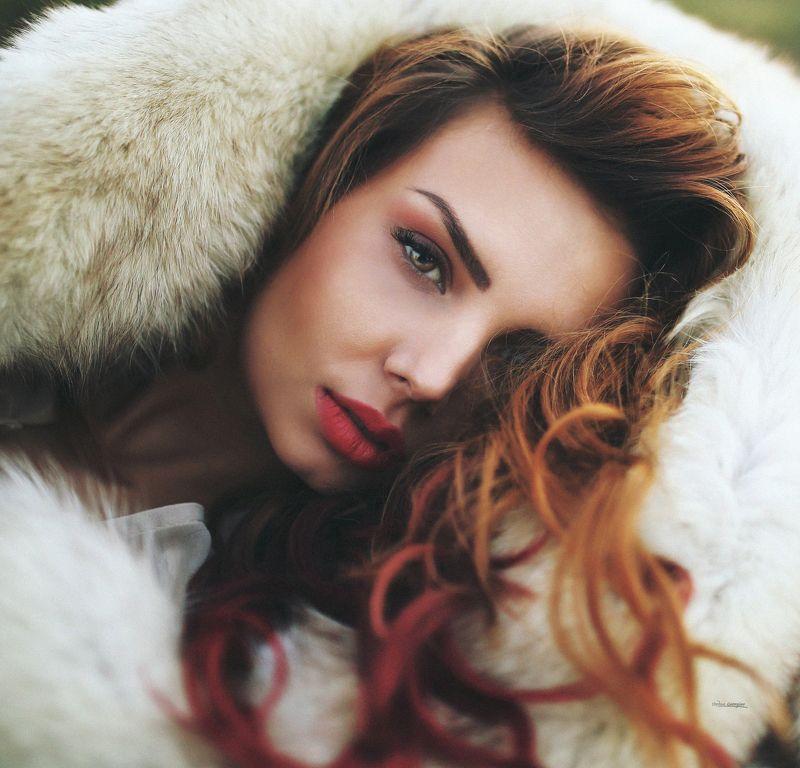 #Beauty #photo #photograph #natural #light #girl #model #red #lips #portrai #popular #canon #sigma #art  Мария photo preview
